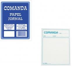 Comanda Mesa Garcon Jornal 50 fls Ref 554
