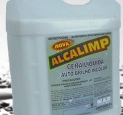 Cera Liquida 5L Incolor Carnauba Alcalimp
