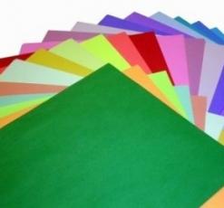 Cartolina Comum Verde C/100