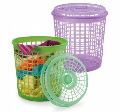 Cesto Lixo Plastico Telado